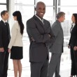 Full length business team — Stock Photo #10308961
