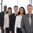 Businesspeople from different cultures looking at camera — Stock Photo #10308969
