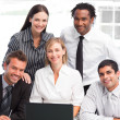 Business team together in an office — Stock Photo #10309305