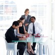Business team studying a new plan — Stockfoto #10309313