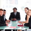 Business in a meeting — Stock Photo #10309392