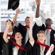 Group of Graduating from College — Stock Photo #10309837