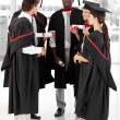 Group of celebrating their Graduation — Stock Photo