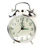 Alarm Clock isolated on white — Stock Photo