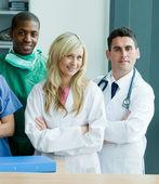 Portrait d'une équipe médicale — Photo