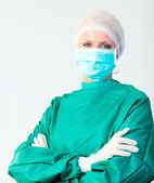 Surgeon with arms Folded — Stock Photo