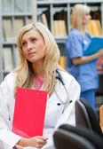 Nurse at work — Stock Photo