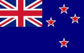 New Zeeland Flag — Stock Photo