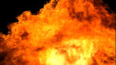 очень подробные 3d абстрактный огонь — Стоковое фото