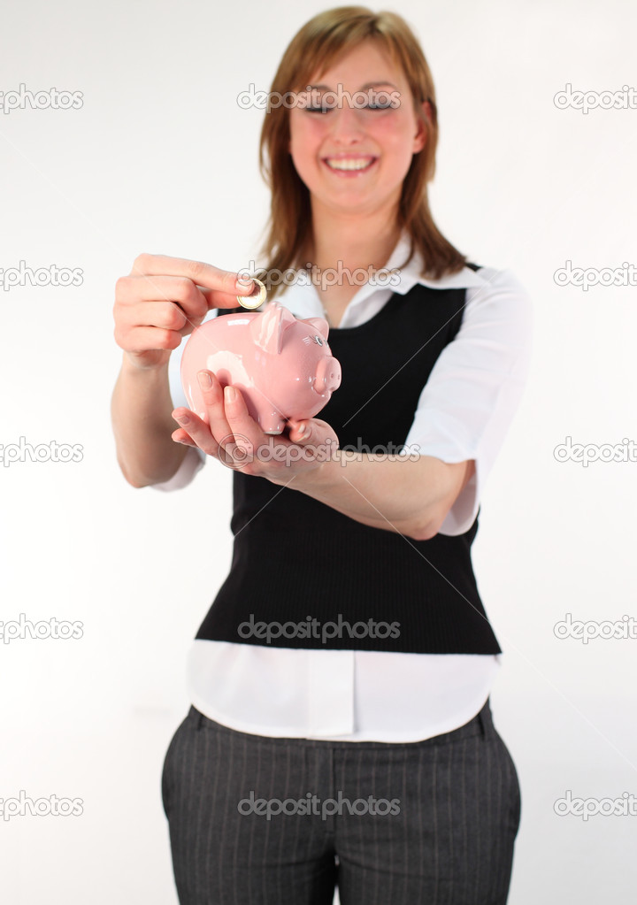 Money and savings during recession — Stock Photo #10300766