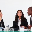 Business team discussing a new plan — Stock Photo #10310445
