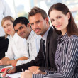 Confident business in a meeting — Stock Photo #10311395
