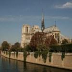 Notre Dam in Paris — Stock Photo