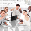 Business Team Celebrating Success — Stock Photo #10313219