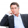 Confident businessman looking at the camera — Stock Photo