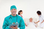 Medicinsk grupp — Stockfoto