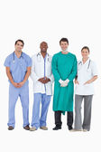 Smiling doctors standing together — Stock Photo