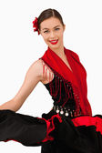 Smiling latin american dancer — Stock Photo