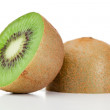 Halved kiwi — Stock Photo