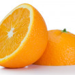 Halved orange — Stock Photo
