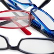 Black red and blue glasses - Photo