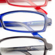 Black red and blue glasses — Stock Photo #10579539