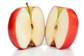 Halved apple — Stock Photo