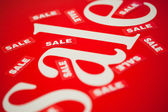 White tag sale in vector — Stock Photo