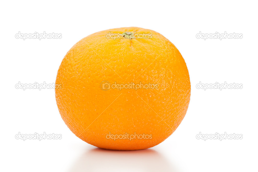 Orange on a white background — Stock Photo #10577701