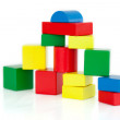 Wooden building blocks — Stock Photo #10581587