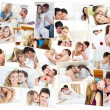 Stock Photo: Cute lovers spending special time