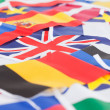 Stock Photo: Several country flags