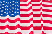波及我们国旗 — 图库照片
