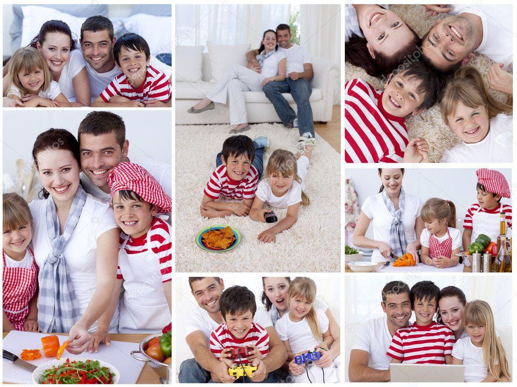 Коллаж своими руками из семейных фото