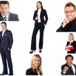 Collage of trendy business — Stock Photo #10600107