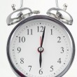 Stock Photo: Alarm clock isolated