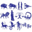 Zodiac Signs — Stock Vector #9786175