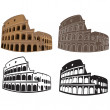 Vector image of Colosseum, Rome — Stock Vector #9788908