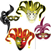 Venetian Mask — Stock Vector