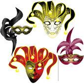 Venetian Mask — Stock Vector