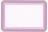 Blank certificate — Stock Vector
