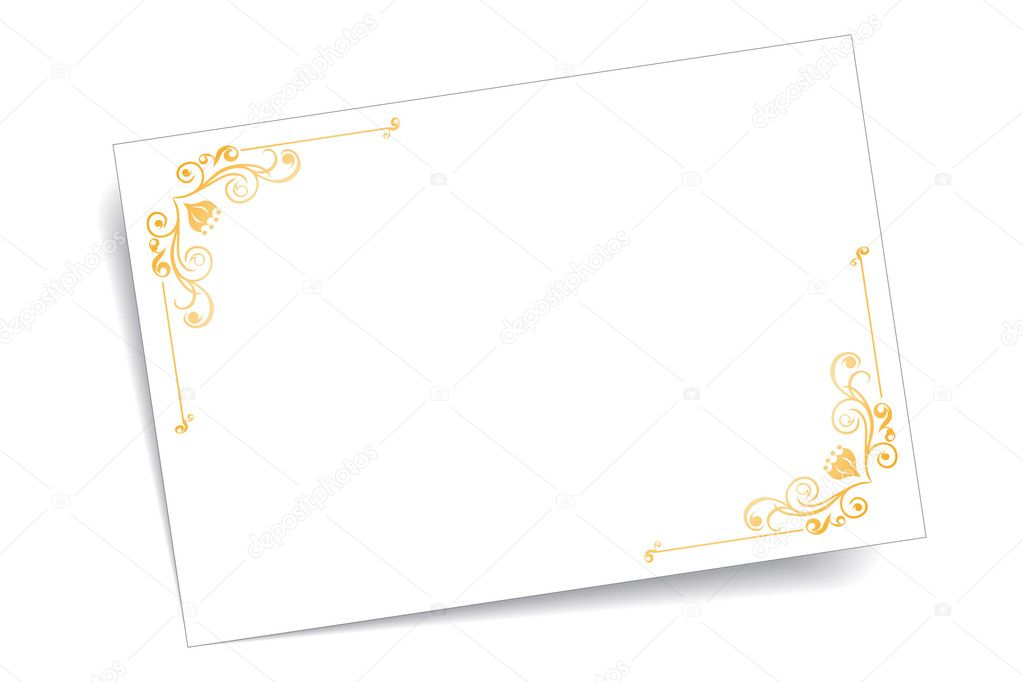 Greeting Card — Stock Vector #9827548