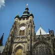 St. Vitus Cathedral the Prague Castle — Stock Photo