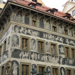 The house at the Minute, Prague — Stockfoto