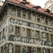 The house at the Minute, Prague — Stock fotografie