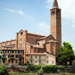 Campanile Sant Anastasia, Verona — Stock Photo