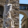 Royalty-Free Stock Photo: Hercules and Cacus, Piazza della Signoria in Florence