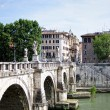 Stock Photo: Ponte Sant Angelo Roma, Italia