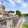 Castel Sant Angelo, Rome. Italia — Stock Photo