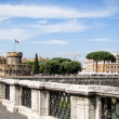 Stock Photo: Ponte and Castel Sant Angelo, Rome. Italia